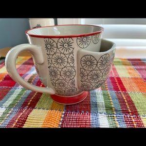 NWT Creative Co-Op tea bag mug